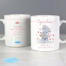 Personalised Me to You Floral Mug P0805H42